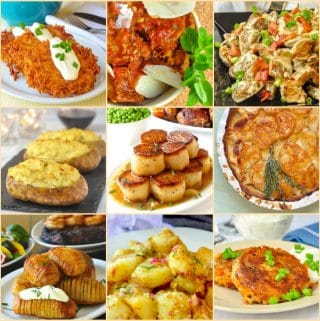 Best potato side dishes collage