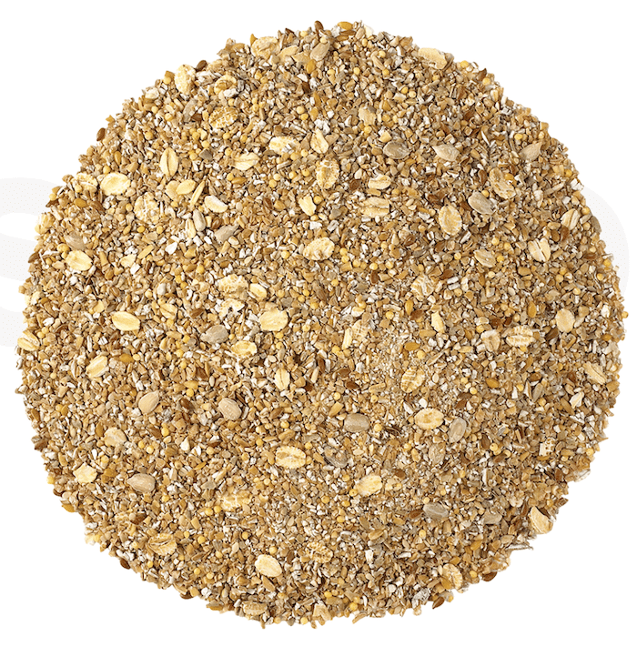 Image of 12 grain cereal on a white background.