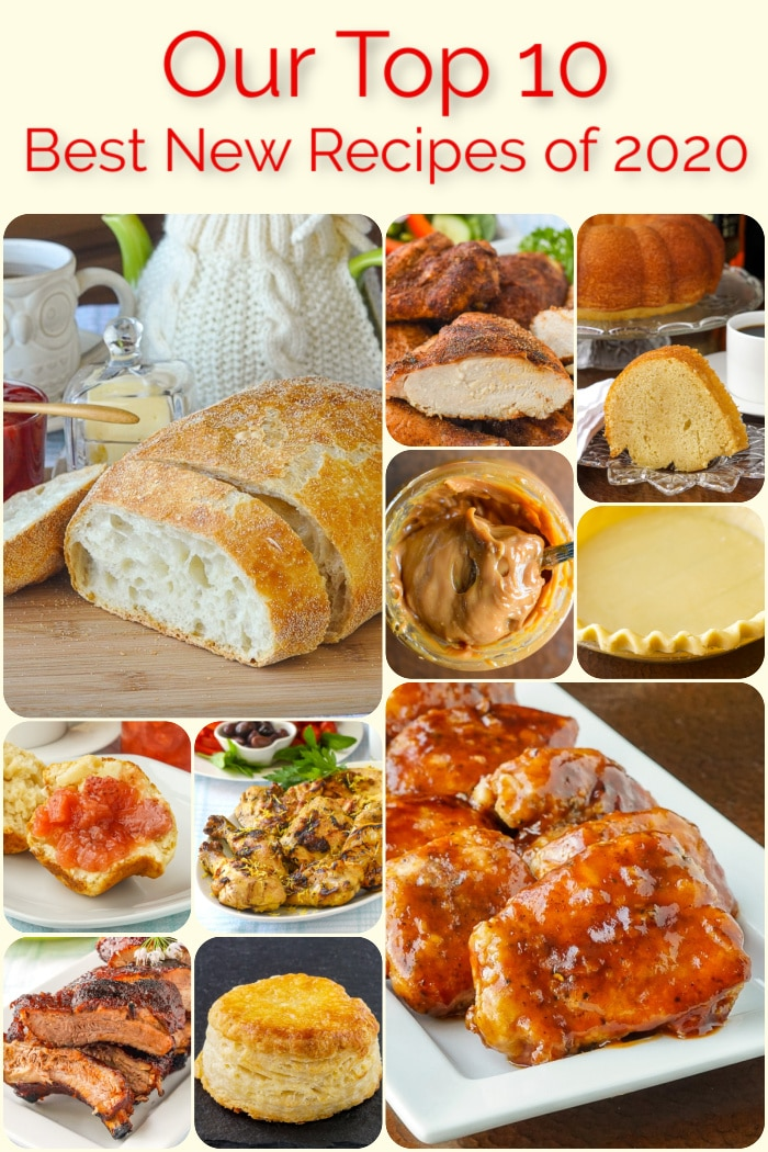 Best Recipes of 2020 Photo Collage for Pinterest