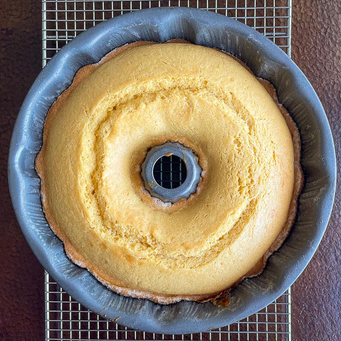 Photo of Custard Bundt Cake fresh from the oven